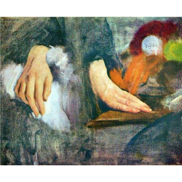 Edgar Degas - Hand Study