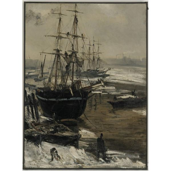 Whistler - The Thames in Ice