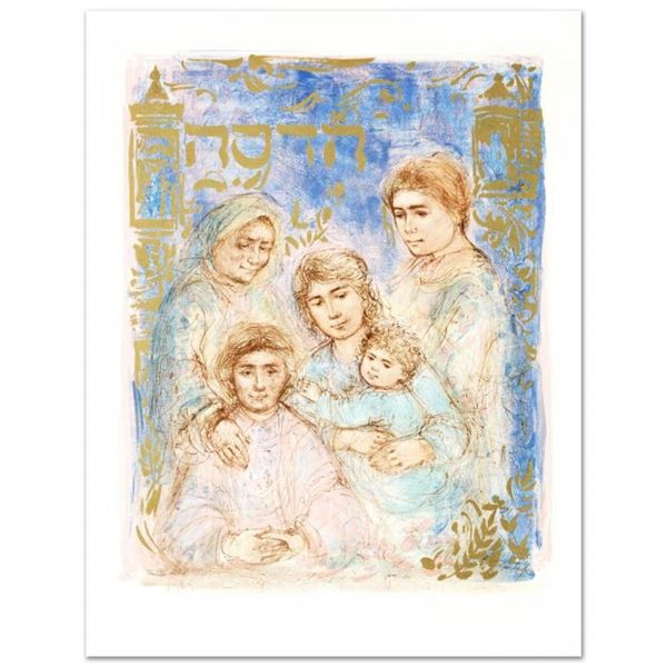 """Hadassah, The Generation"" Limited Edition Lithograph by Edna Hibel (1917-2014),"
