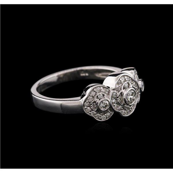 14KT White Gold 0.40 ctw Diamond Ring