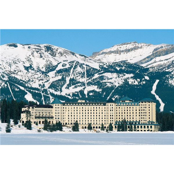 Canadian Rocky Mountain Vacation for 2 with Airfare
