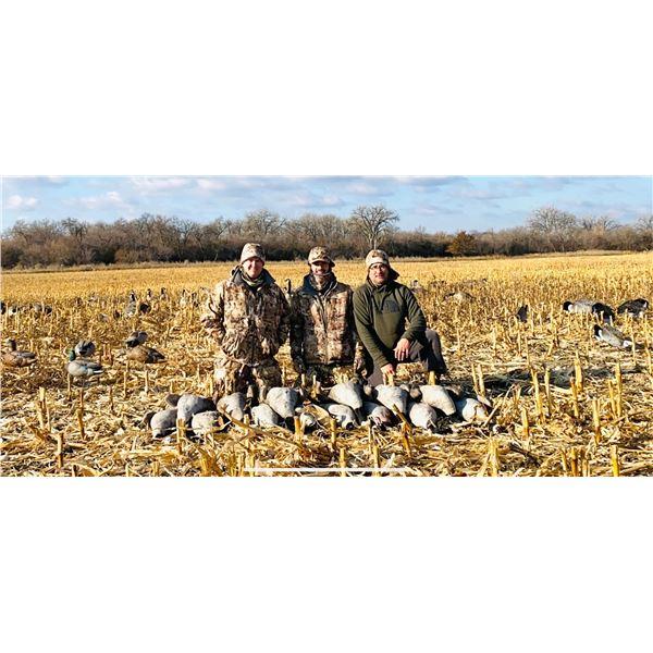 North Dakota Duck and Goose Hunt for 2 Hunters