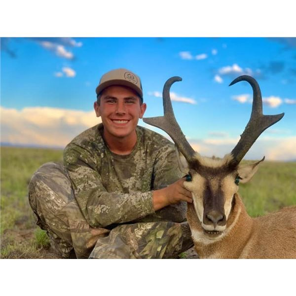 New Mexico Antelope Hunt with Landowner Tag