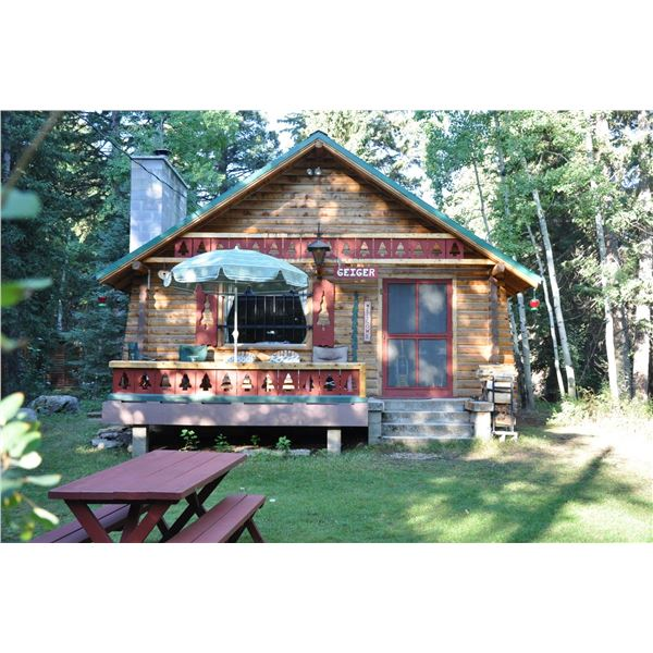 One week stay in a mountain cabin in the beautiful Bighorn Mountains of Wyoming