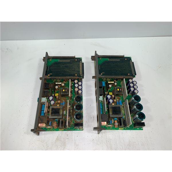 (2) - FANUC A16B-2203-0370 CIRCUIT BOARDS