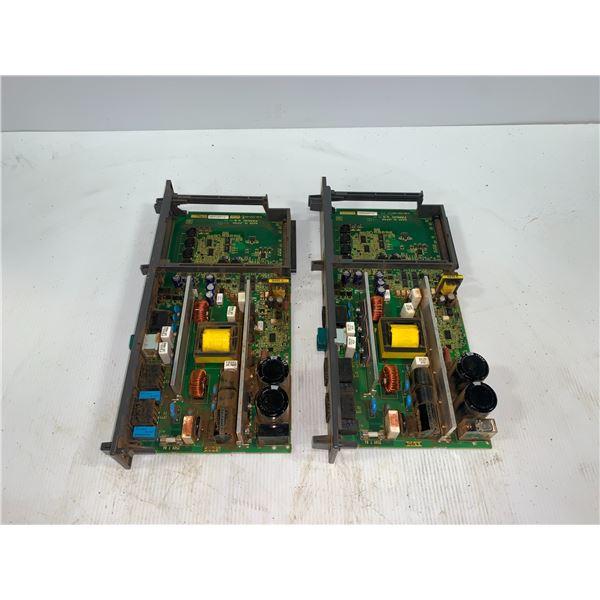 (2) - FANUC A16B-2203-0910 CIRCUIT BOARDS