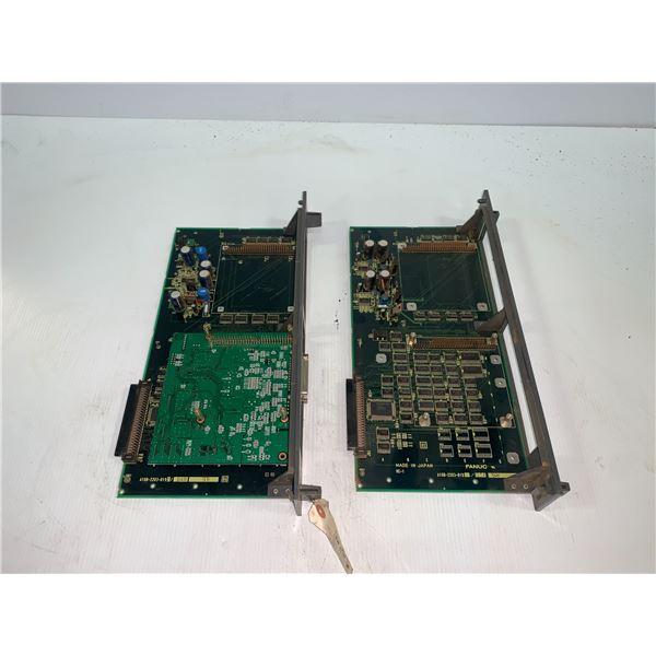 (2) - FANUC A16B-2203-0192/01A CIRCUIT BOARDS