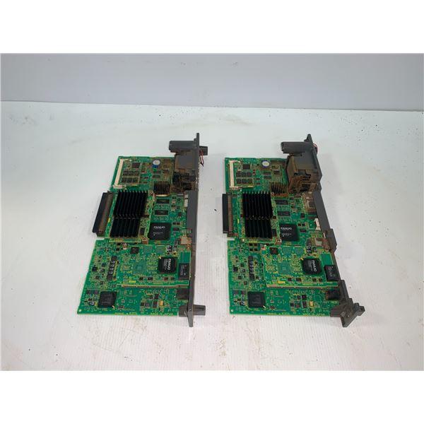 (2) - FANUC A16B-3200-0730/06A CIRCUIT BOARDS