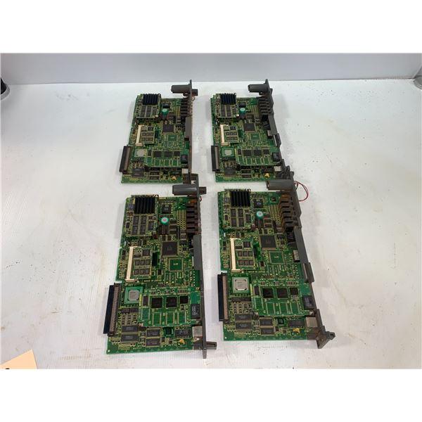 (4) - FANUC A16B-3200-0412/03A CIRCUIT BOARDS