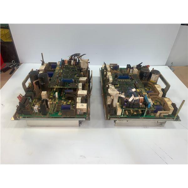 (2) - FANUC A06B-6105-H002 SERVO AMPLIFIERS