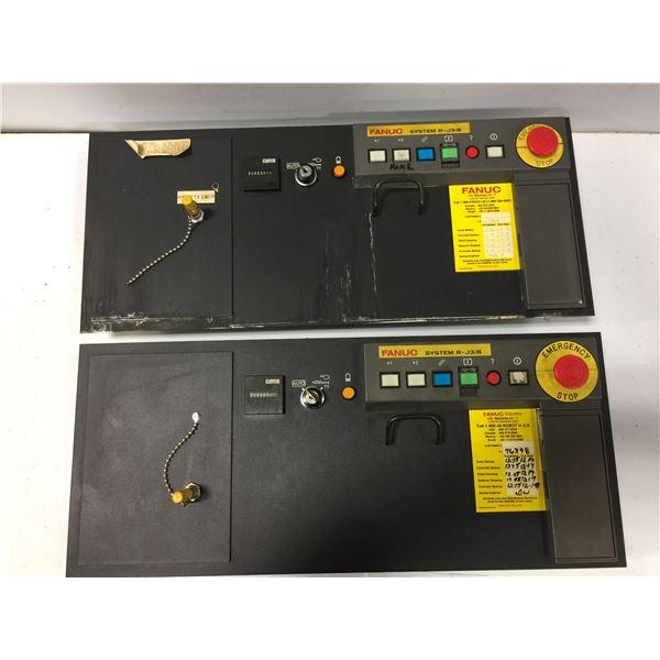 (2) FANUC A05B-2452-C158 OPERATORS PANEL