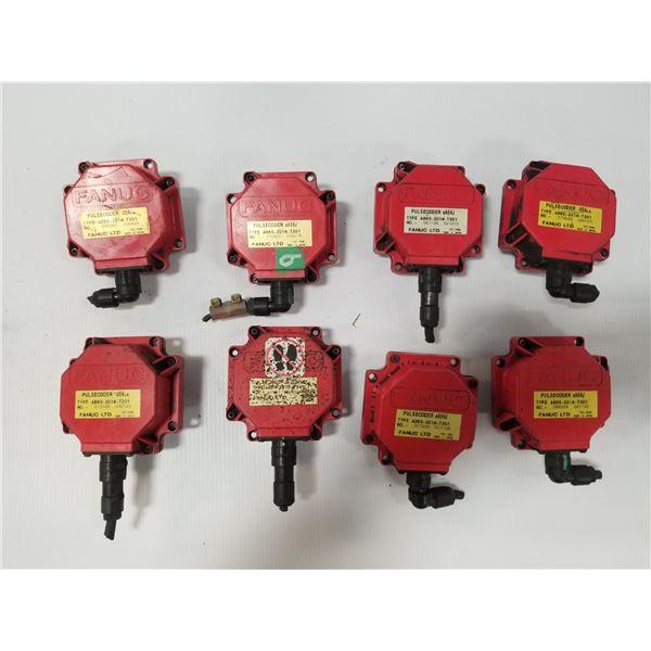 (8) FANUC A860-2014-T301 PULSECODER