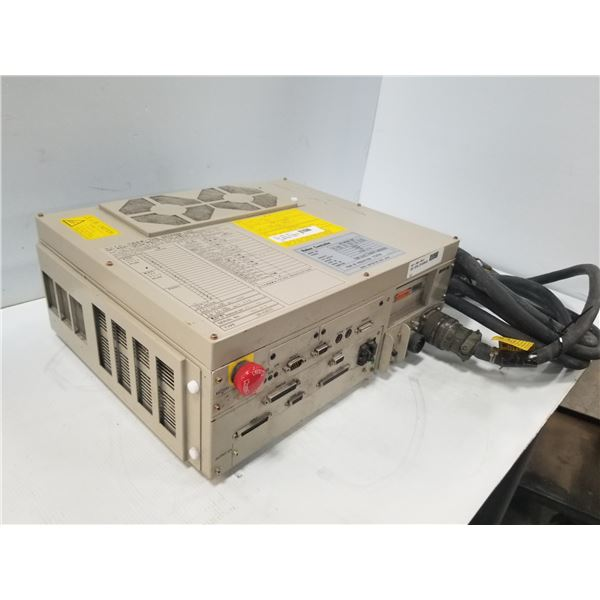DENSO RC5-HME4BA-BN ROBOT CONTROLLER (DAMAGED/DEFORMED  HEAT SINKS) *SEE PICS FOR DETAILS*