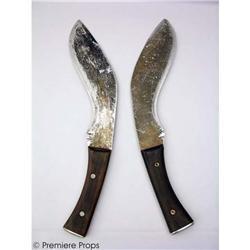 RESIDENT EVIL 3 Alice (M. Jovovich)Knives