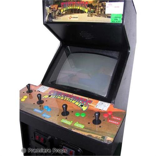 Sunset Riders Arcade Game
