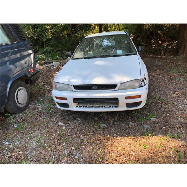 1998 SUBARU IMPREZA L, VIN# JF1GC435XWG500628, SEDAN, 4 CYLINDER, GAS, THIS IS A DONOR CAR TO DO A