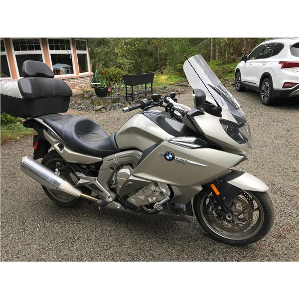 2011 BMW MOTORCYCLE, K1600 GTL, 1600CC 6 CYCLE, GREY, VIN# WB1060207BZZ15080, 15572KM,