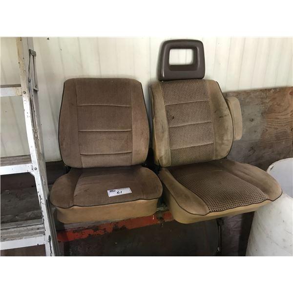 2 BEIGE VANAGON SEATS *NANAIMO*