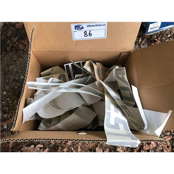 BOX OF WESTFALIA DECALS *NANAIMO*
