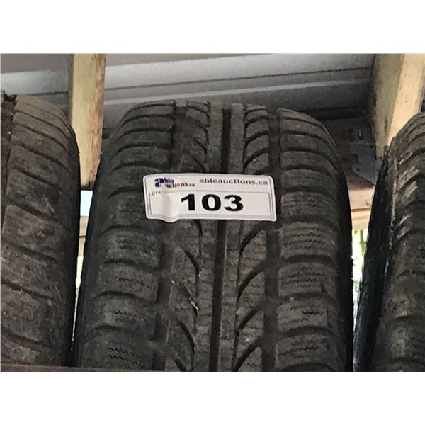 4 X HANKOOK 205/65 R15 M+ S TIRES WITH RIMS FOR VW EUROVAN *NANAIMO*