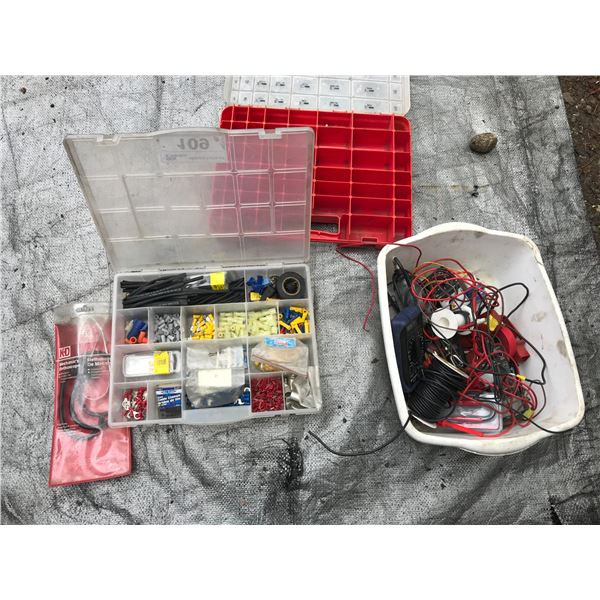 ASSORTED WIRING CONNECTIONS, MULTI METERS & STETHOSCOPE *NANAIMO*