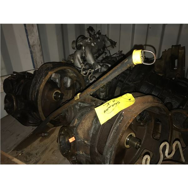 6 VANAGON AUTOMATIC TRANSMISSIONS IN VARIOUS LEVELS OF SERVICE, TORQUE CONVERTOR, 3 REBUILD KITS &