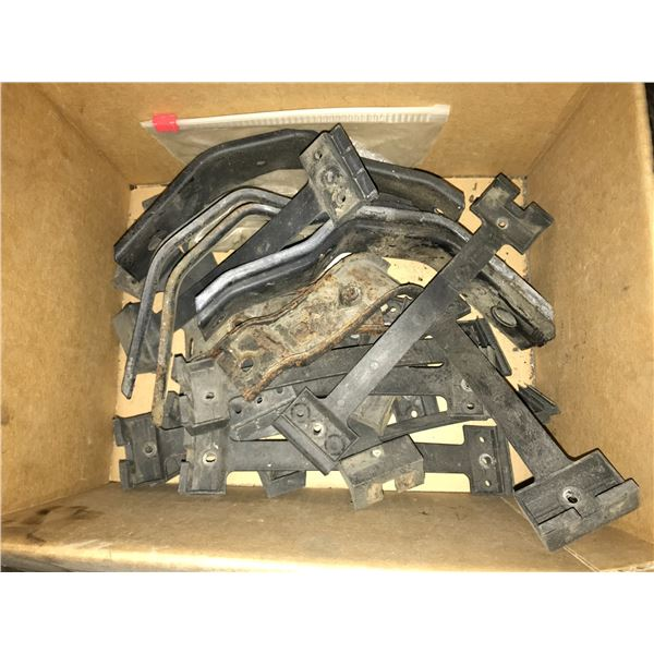 LATE MODEL VANAGON LOWER BODY SKIRT KIT, PROPANE PARTS, 2 REAR VANAGON UNDER SEAT HEATER CORES