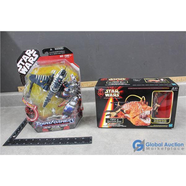 Star Wars Transformer & Toy In Box