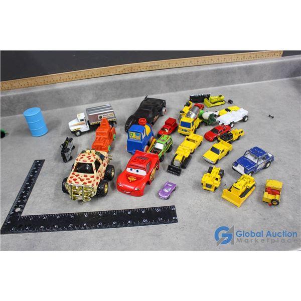 Toy Cars - Tonka & Hot Wheels