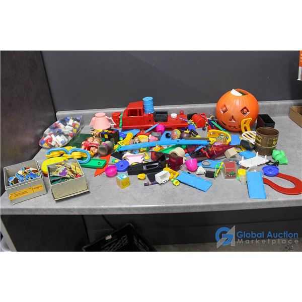 Assorted Child's Toys