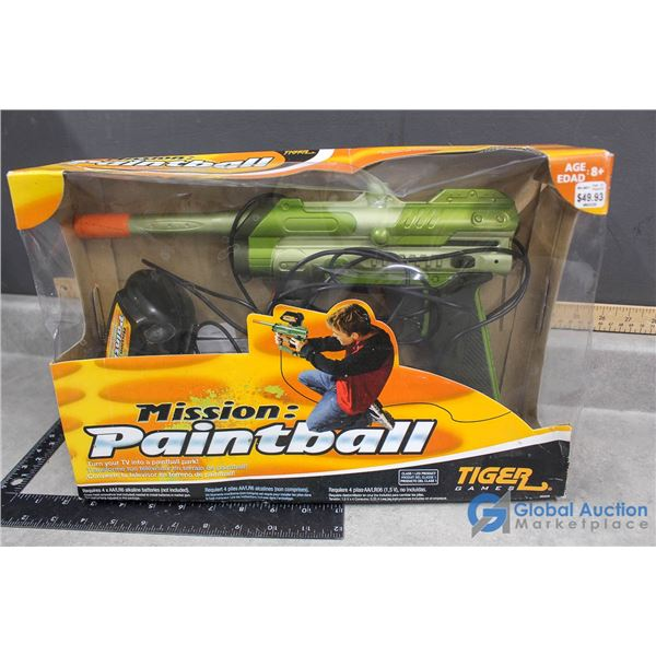 Electronic Paintball Game w/Box