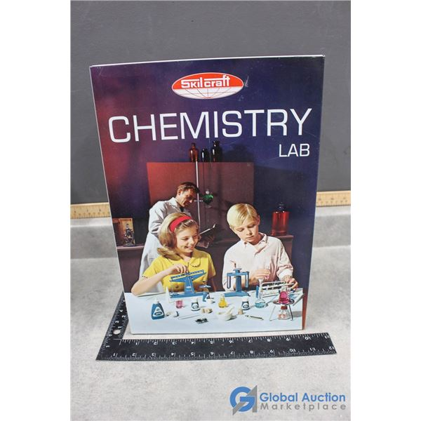 Chemistry Lab Tin Case w/Contents
