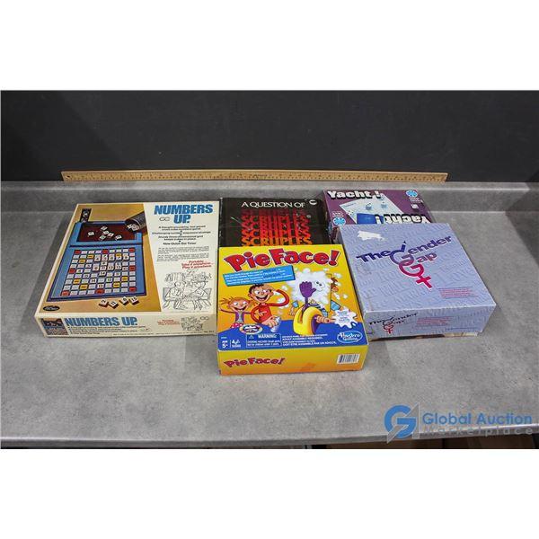 (5) Board Games