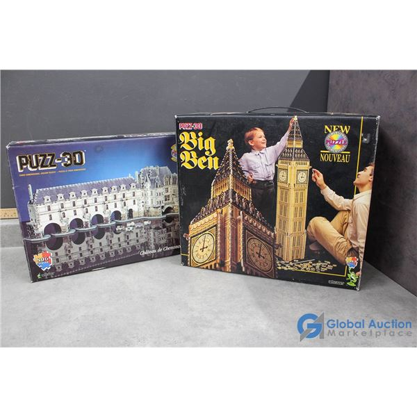 (2) 3-D Puzzles