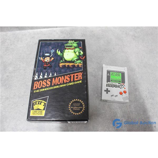Boss Monster Card Game & Arcade Block Cards