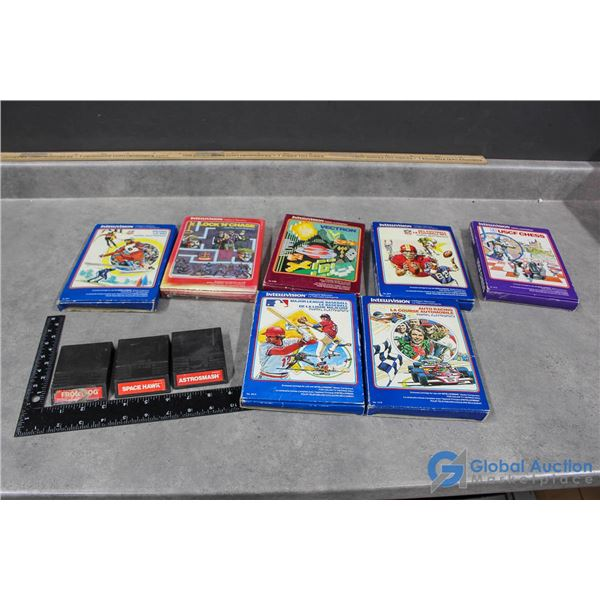 Vintage Intellivision Video Games