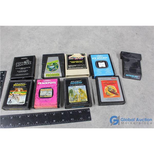 Vintage Atari Video Games