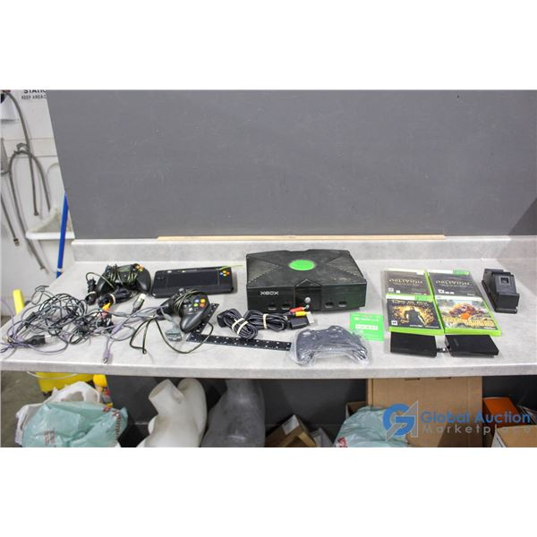 XBox - System, 360 Games, Controllers & Cords