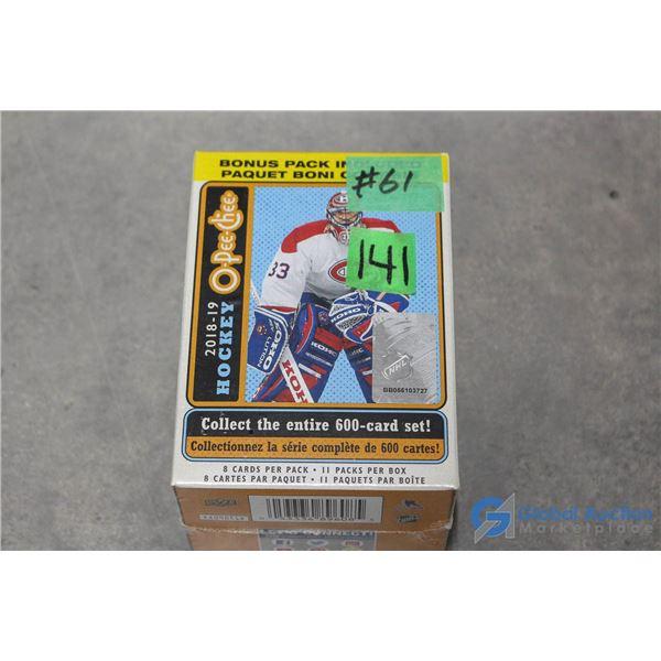Sealed 2018-19 O-Pee-Chee Platinum Hockey Cards - 11 Packs