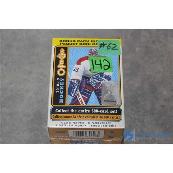 Sealed 2018-19 O-Pee-Chee Platinum Hockey Cards- 11 Packs