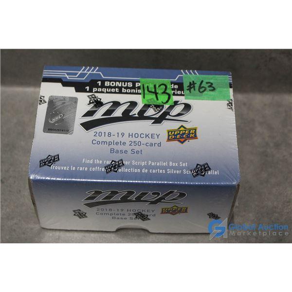 2018-19 Upper Deck MVP Hockey Cards Complete 250 Set w/Bonus Pack of Cards