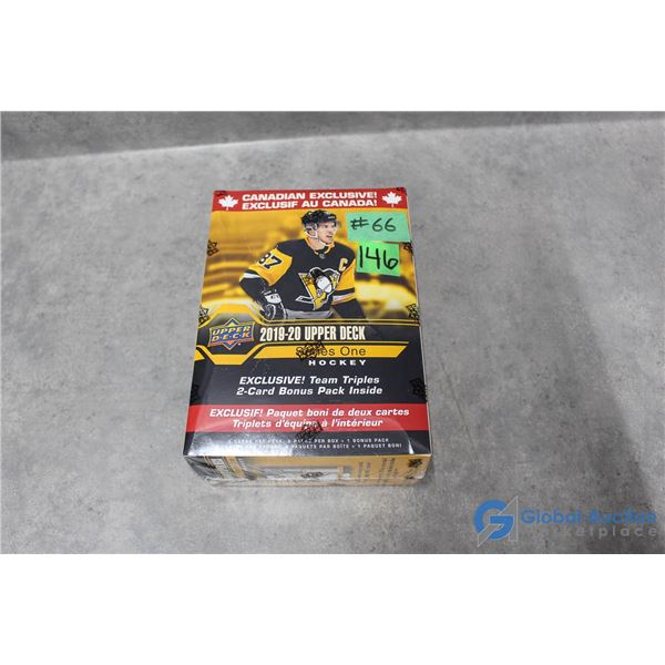 Sealed 2019-20 Upper Deck Series 1 Hockey Cards - 10 Packs - Young Guns Rookie Cards