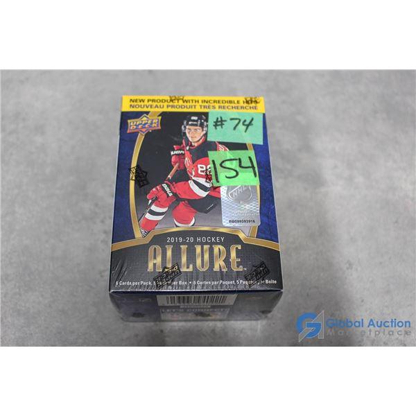 Sealed 2019-20 Upper Deck Allure Hockey Rookie Box Set - 5 Packs w/Top Prospects