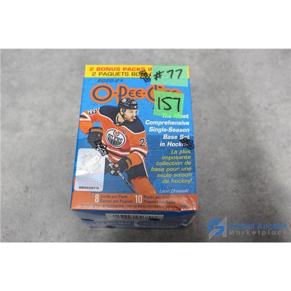 Sealed 2020-21 O-Pee-Chee Hockey - 10 Packs