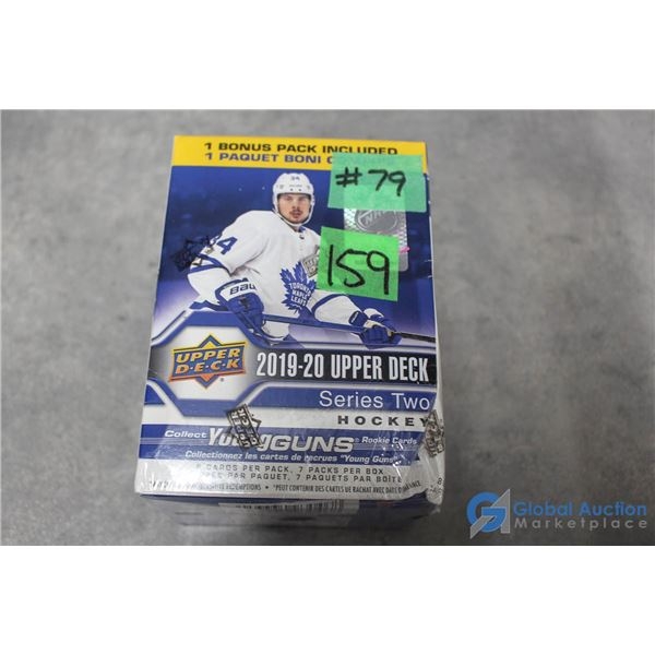Sealed 2019-20 Upper Deck Series 2 Hockey Cards - 7 Packs - Young Guns Rookie Cards