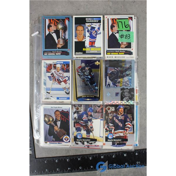 Mark Messier - 45 Different Hockey Cards