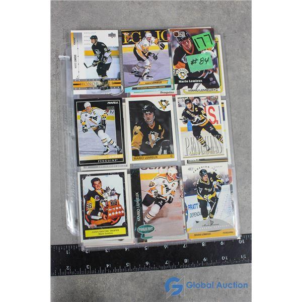 Mario Lemieux - 54 Different Hockey Cards