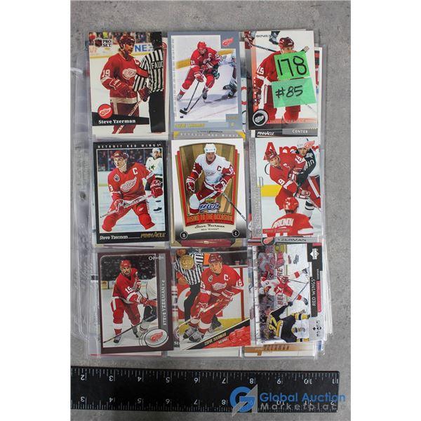 Steve Yzerman 0 54 Different Hockey Cards