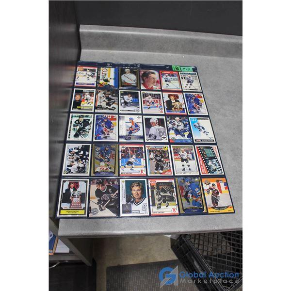 Wayne Gretzky - 30 Different Hockey Cards