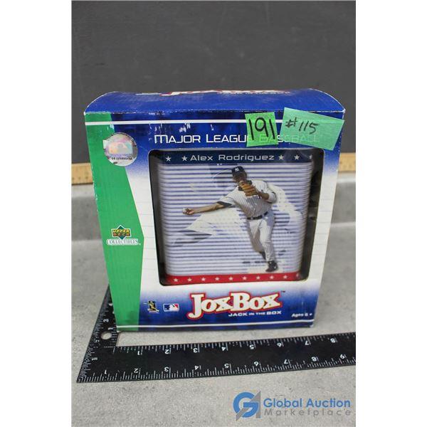 Alex Rodriguez Upper Deck Collectible - Jack in the Box NIB